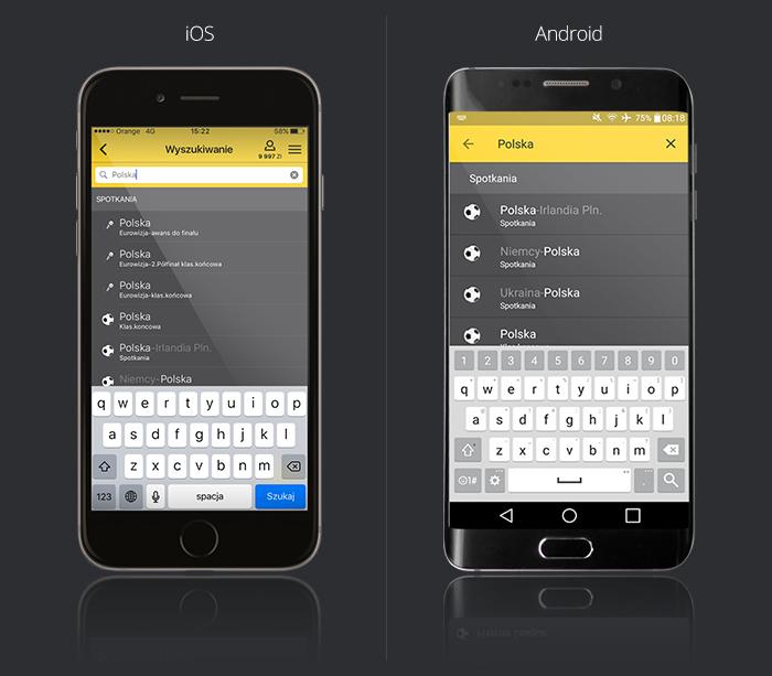 Fortuna aplikacja na iOS i Android