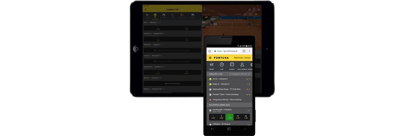 Fortuna mobile – aplikacja na Android i iOS